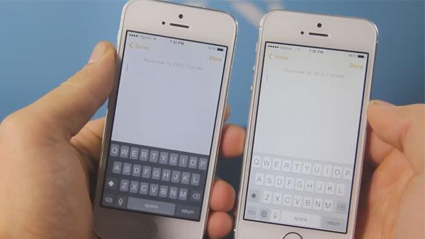 teclado iphone ios 7 1