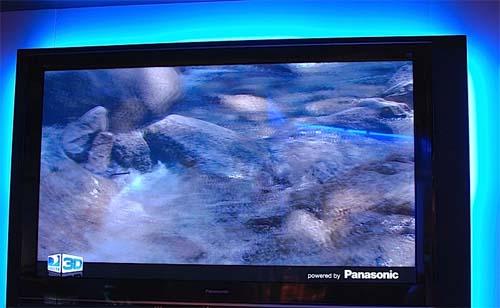 television 3d panasonic viera