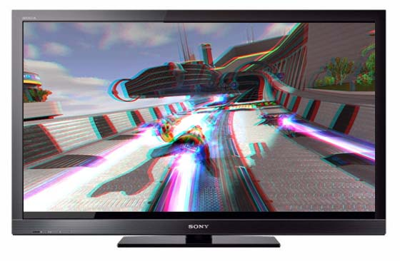 television 3d sony bravia