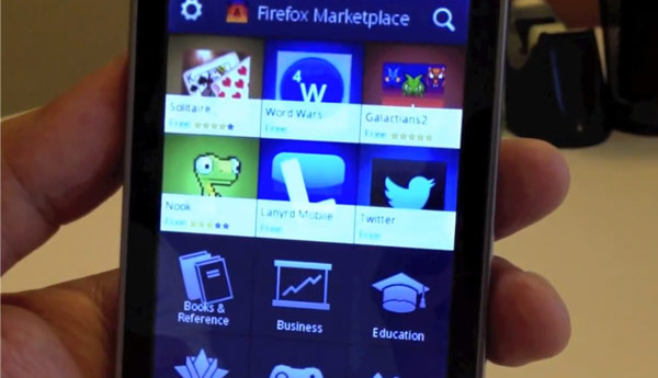 tienda aplicaciones firefox os