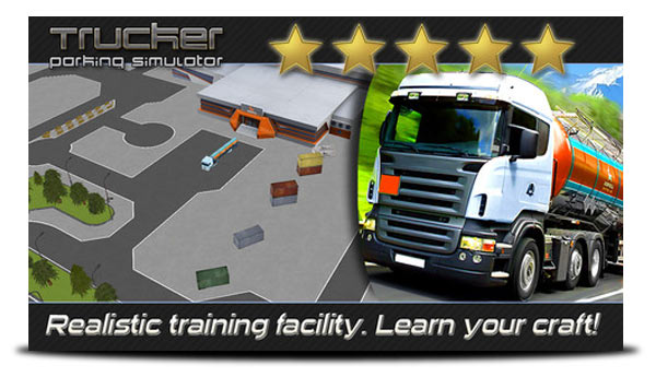trucker parking simulator iphone
