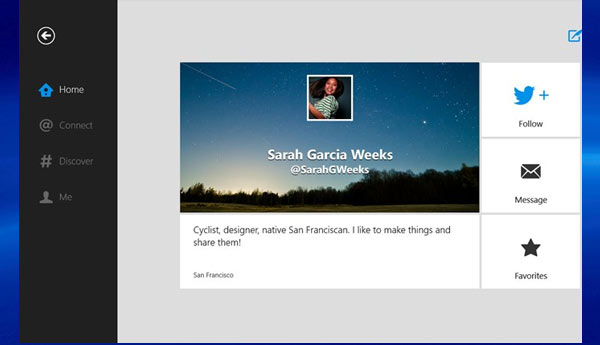 twitter oficial app windows 8 rt