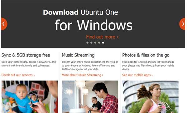 ubuntu one archivos