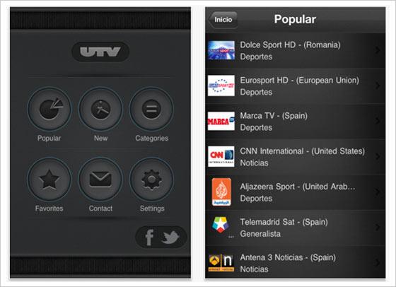 universal tv ipad iphone