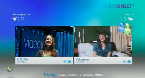 video kinect messenger