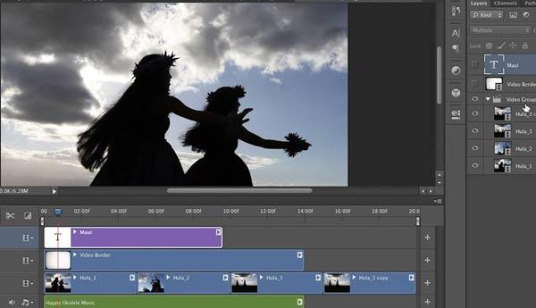 video photoshop cs6