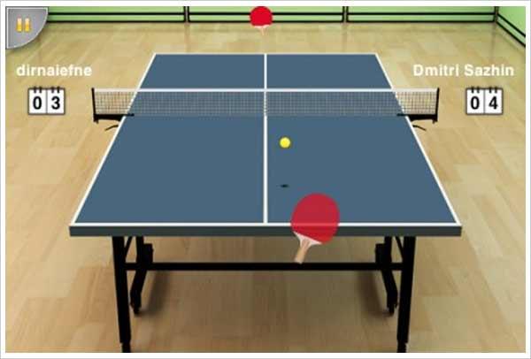 virtual tablet tennis ipad
