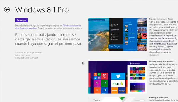 windows 8 1 update 1 actualizacion