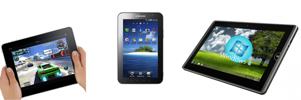iPad, Tablet Windows 8 o Android