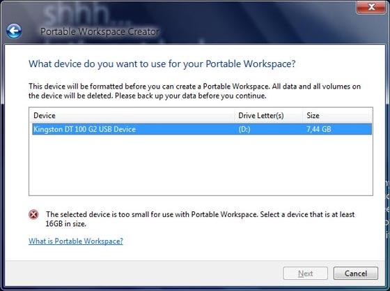 windows 8 portable workspace