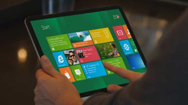 windows 8 tablet pc