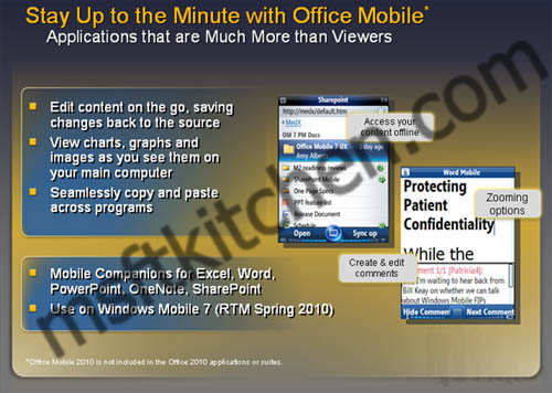 windows mobile 7 2010