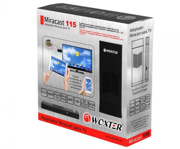 woxter miracast 115 caja