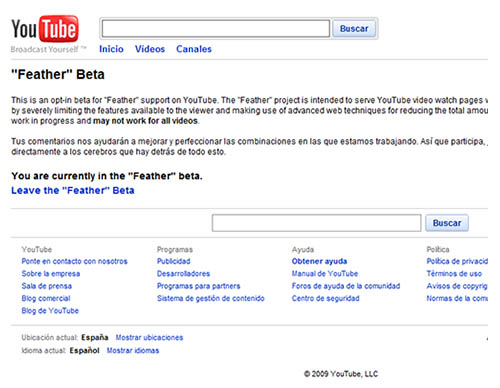 youtube feather videos comprimidos