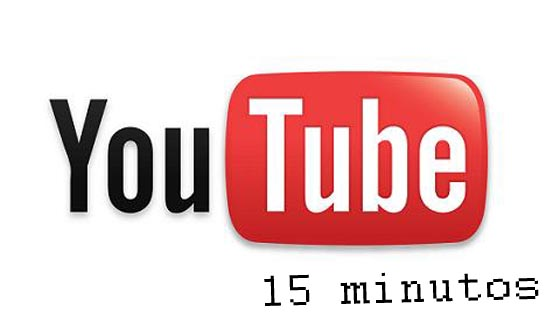 youtube videos 15 minutos