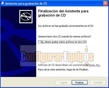 Grabar cd´s Sin utilizar Programas en windows xp