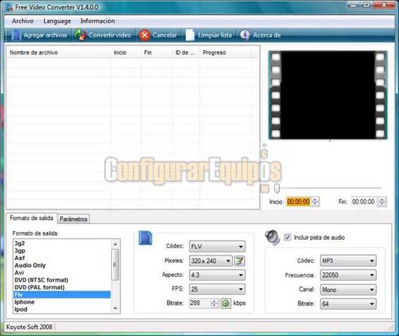 COMO CONVERTIR ARCHIVOS FLV A MPEG Fvc-01