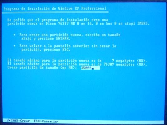 como instalar un sistema operati
