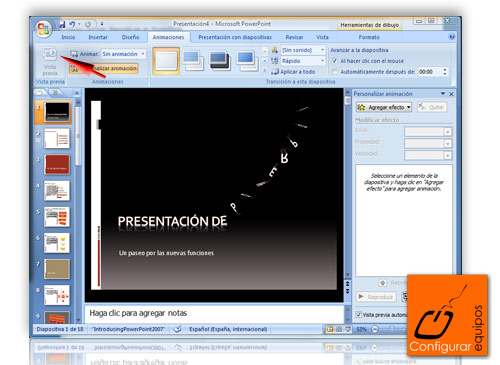 animar diapositivas powerpoint 4
