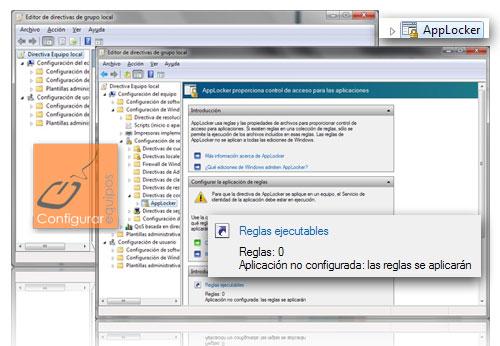 applocker bloquear programas windows 7