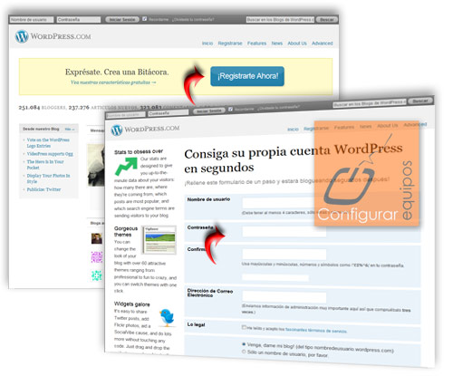 como crear blog con wordpress gratis 1
