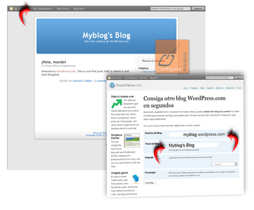 como crear blog con wordpress gratis 2