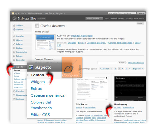 como crear blog con wordpress gratis 3