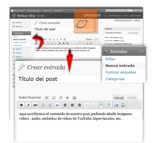 como crear blog con wordpress gratis 5