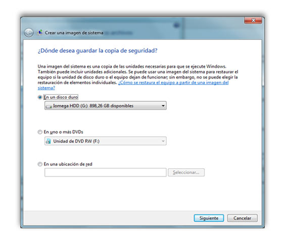 copia sistema windows 7 b