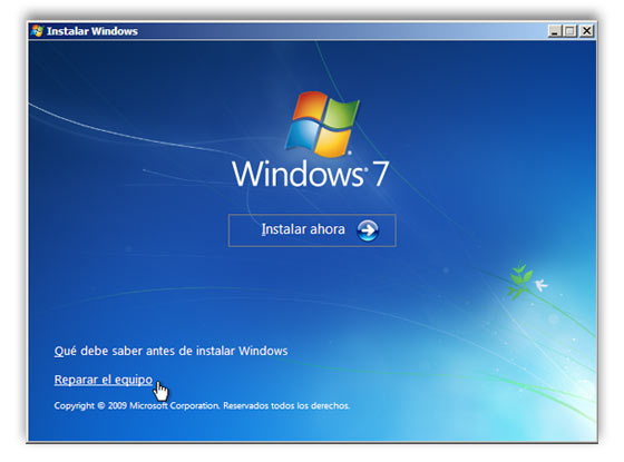 copia sistema windows 7 c