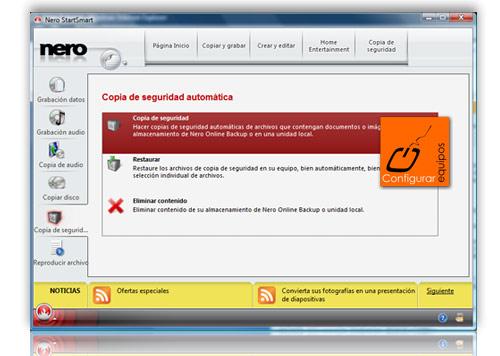 hacer copia seguridad online nero backup 1