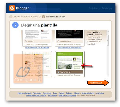 como crear blog personal blogger 3