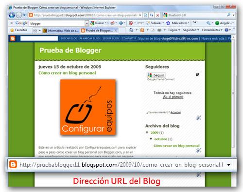 como crear blog personal blogger 5