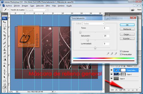 como crear fondo photoshop 4