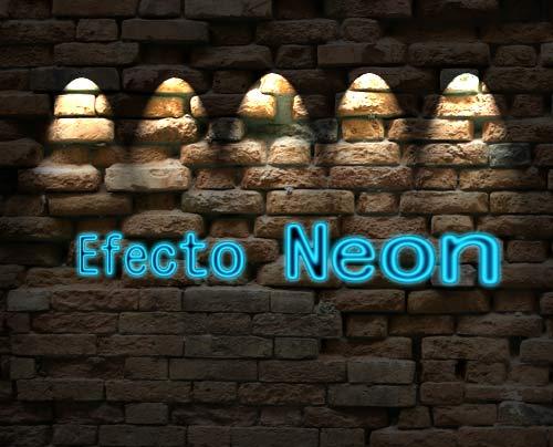 efecto neon photoshop 1