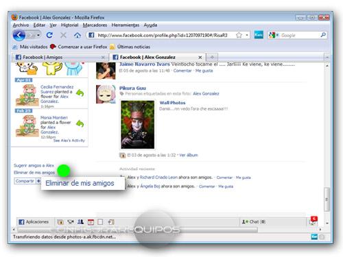 eliminar amigos facebook 2