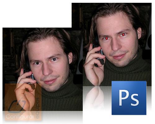 eliminar ojos rojos photoshop 1