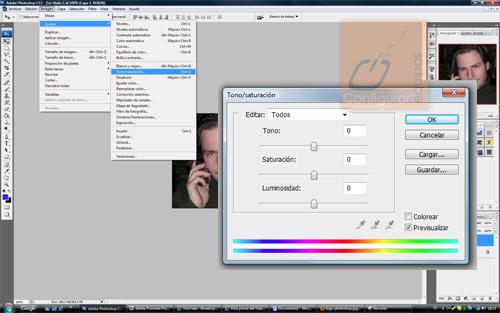 eliminar ojos rojos photoshop 3