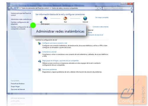 exportar configuracion red windows 7 1