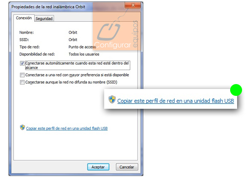 exportar configuracion red windows 7 3