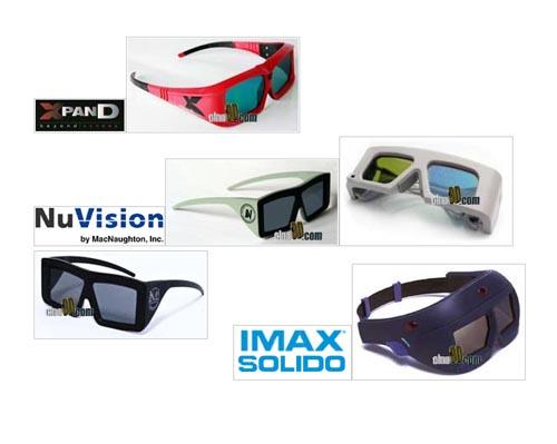 gafas activas 3d