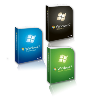 versiones windows 7