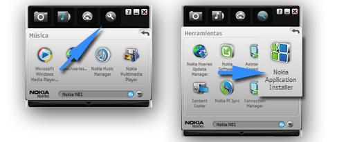 instalar programas en un Nokia
