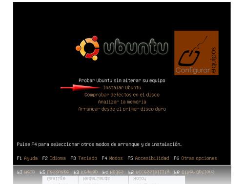 instalar ubuntu 9 10 karmic koala 2