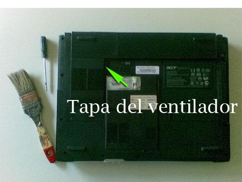 limpiar ventilador portatil 1
