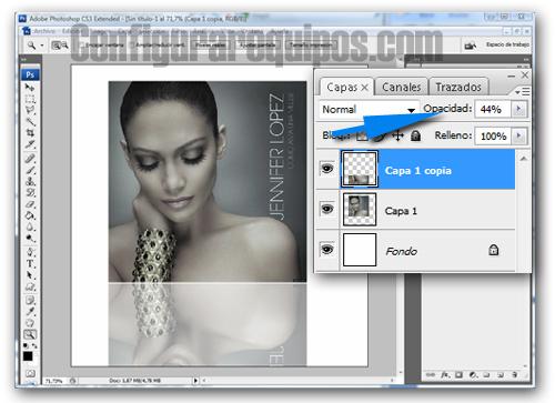 crear reflejos photoshop 3