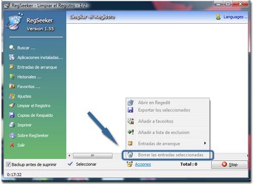 Limpiar el registro de sistema de Windows Limpiar-registro-4