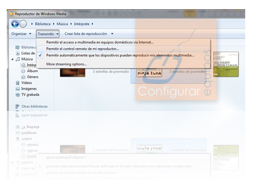 compartir videos por internet windows 7 2