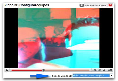 Cómo subir videos 3d a YouTube