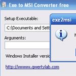 Imagen de Exe to MSI Converter Free